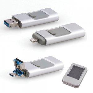 7202-16GB Metal USB Bellek