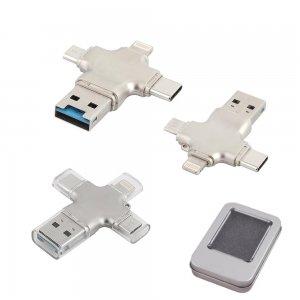 7204-16GB Metal USB Bellek
