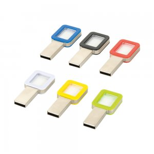 7252-16GB Şeffaf USB Bellek