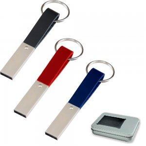 7256-32GB Metal USB Bellek Anahtarlık