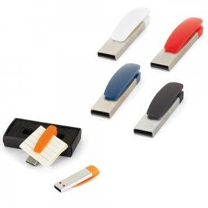 7277-16GB Metal Plastik USB Bellek