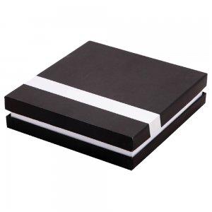 4604 Sıvamalı Metal Şeritli Set Kutusu ( 18 x 20 cm )