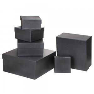 4630 Özel Kağıt Kaplamalı Hediye Kutusu ( 11 x 10 x 6 cm )