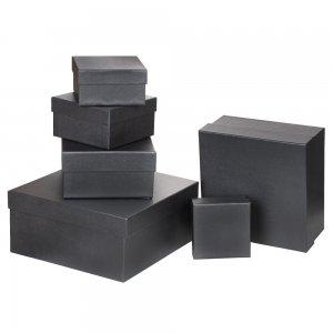 4630-2 Özel Kağıt Kaplamalı Hediye Kutusu ( 12 x 12 x 7 cm )