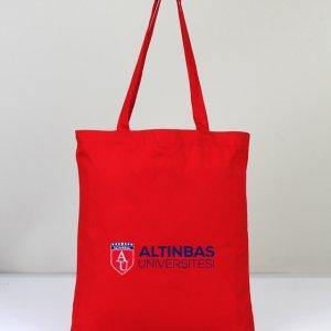 Kırmızı Bez Çanta