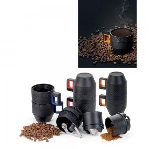8135 Taşınabilir Öğütücülü Manuel Kahve Makinası